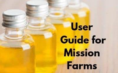 User Guide for Mission Farms CBD Oils