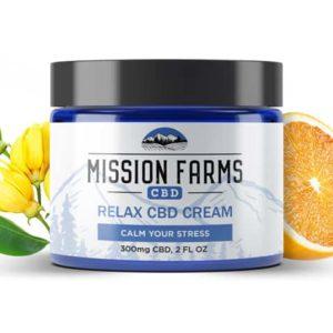 Relax CBD Goat Milk Cream l Mission Farms CBD