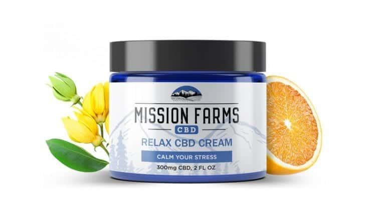 10Off Relax Hemp Cream Mission Farms CBD Coupon Code