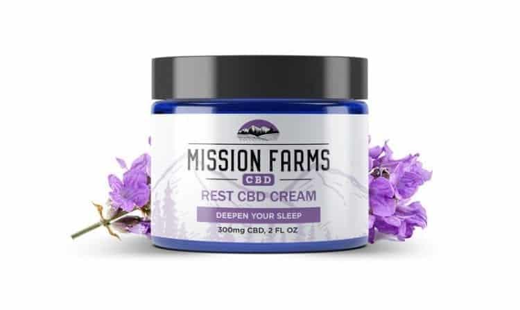 20Off Rest Hemp Cream Mission Farms CBD Coupon Code