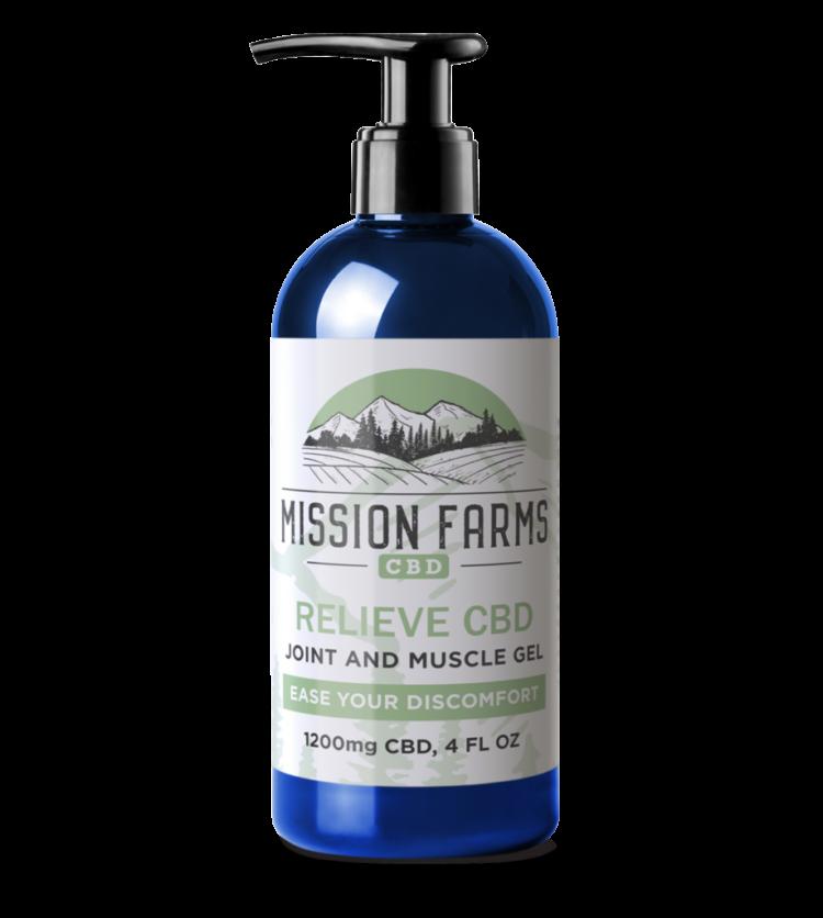 Relieve CBD Gel l Mission Farms CBD