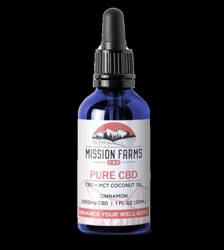 Pure CBD Oil l Mission Farms CBD