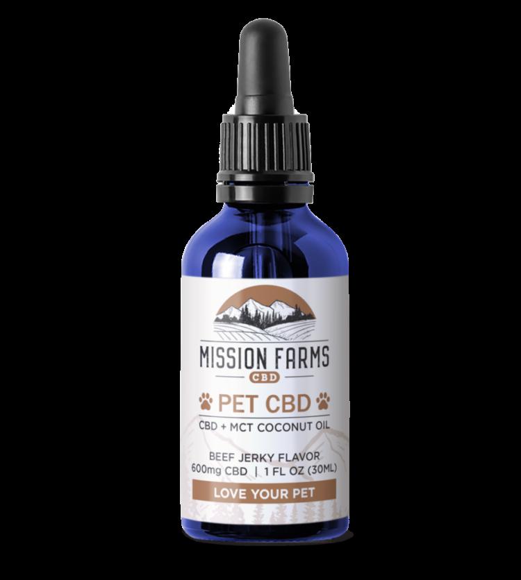 Pet CBD Oil l Mission Farms CBD