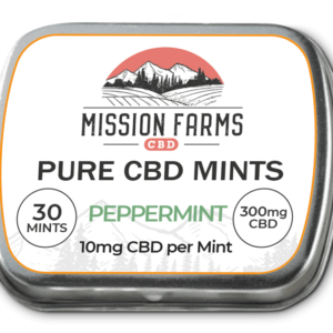 Peppermint CBD Mints, Full-size – Subscribe and Save