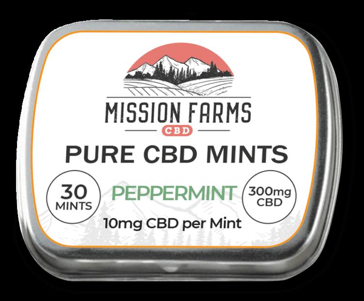 Peppermint CBD Mints l Mission Farms CBD