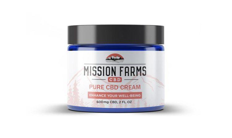 Pure CBD Cream l Mission Farms CBD