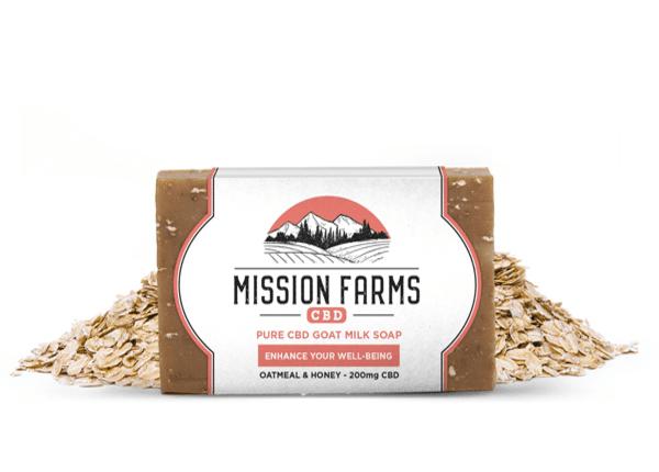 Pure CBD Goat Milk Soap l Mission Farms CBD