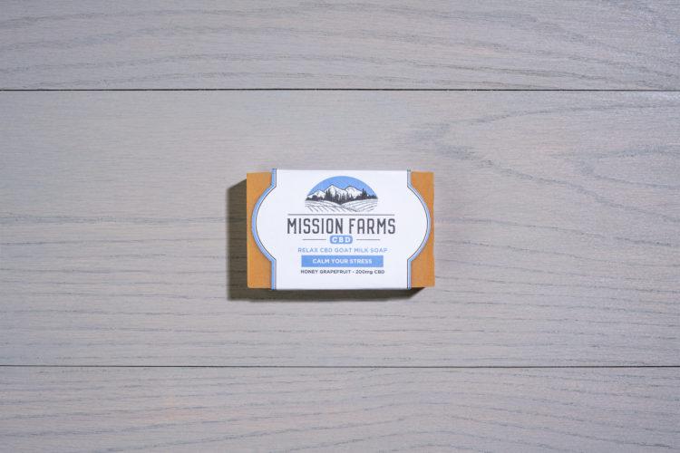 Relieve CBD Soap l Mission Farms CBD