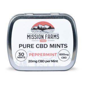 Pure CBD Peppermint Mints